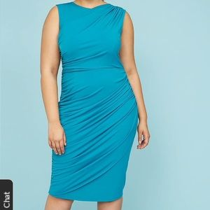 Brand new with tags turquoise Lane Bryant dress